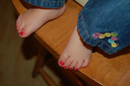 whirligig bug pretty toes