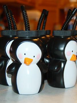 Whirligig Bug Penguin Party